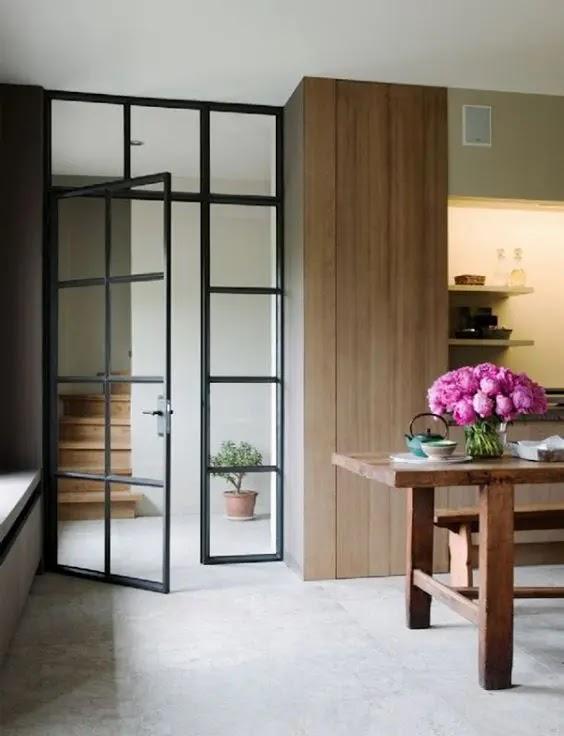 Ideas For Kitchen Sliding Door Ideas wallpaper