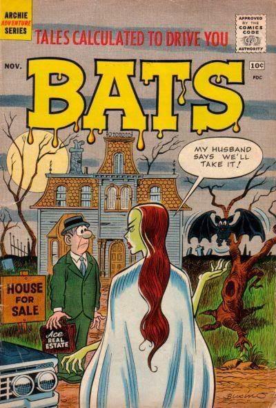Bats #1 cover