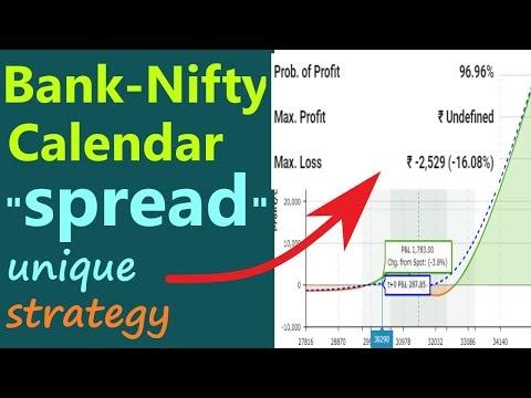 Bank nifty calendar spread strategy| bank nifty low risk high reward str...