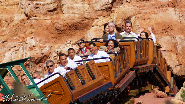 Disneyland Resort, Disneyland, Big Thunder Mountain Railroad, Refurbishment, Refurb, Cast Member, Test