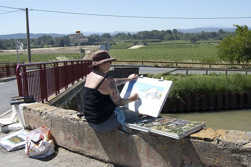 Drawing in St Valière