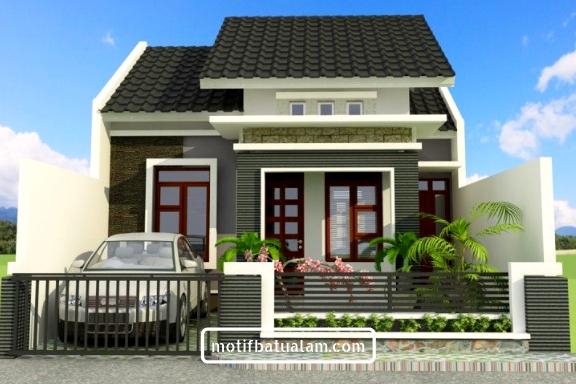 Dinding Batu Alam Rumah Minimalis | Ide Rumah Minimalis