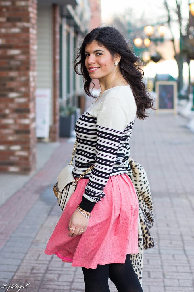 pink skirt, stripes, leopard coat-7.jpg