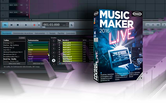 Magix Music Maker - ¿Mejor Programa para Crear Música 2016? - Hosting Wordpress