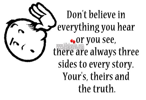 Believe Everything 75646 Jpg Quotes