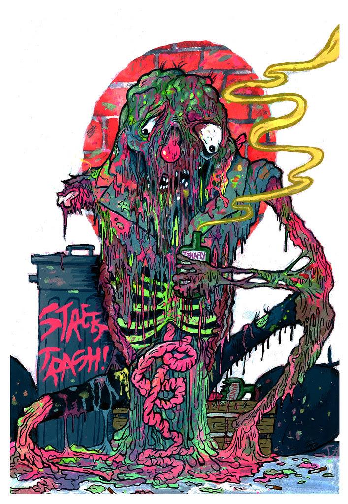 Trevor Henderson - Street Trash