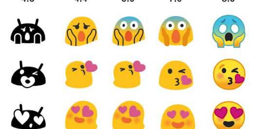 The Android Blob emoji are back in the form of a GIF sticker pack for GBoard - Ausdroid