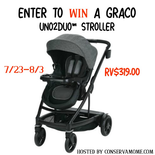 Graco UNO2DUO Stroller Giveaway ~ Safety and Convenience ~ Tom's Take On Things