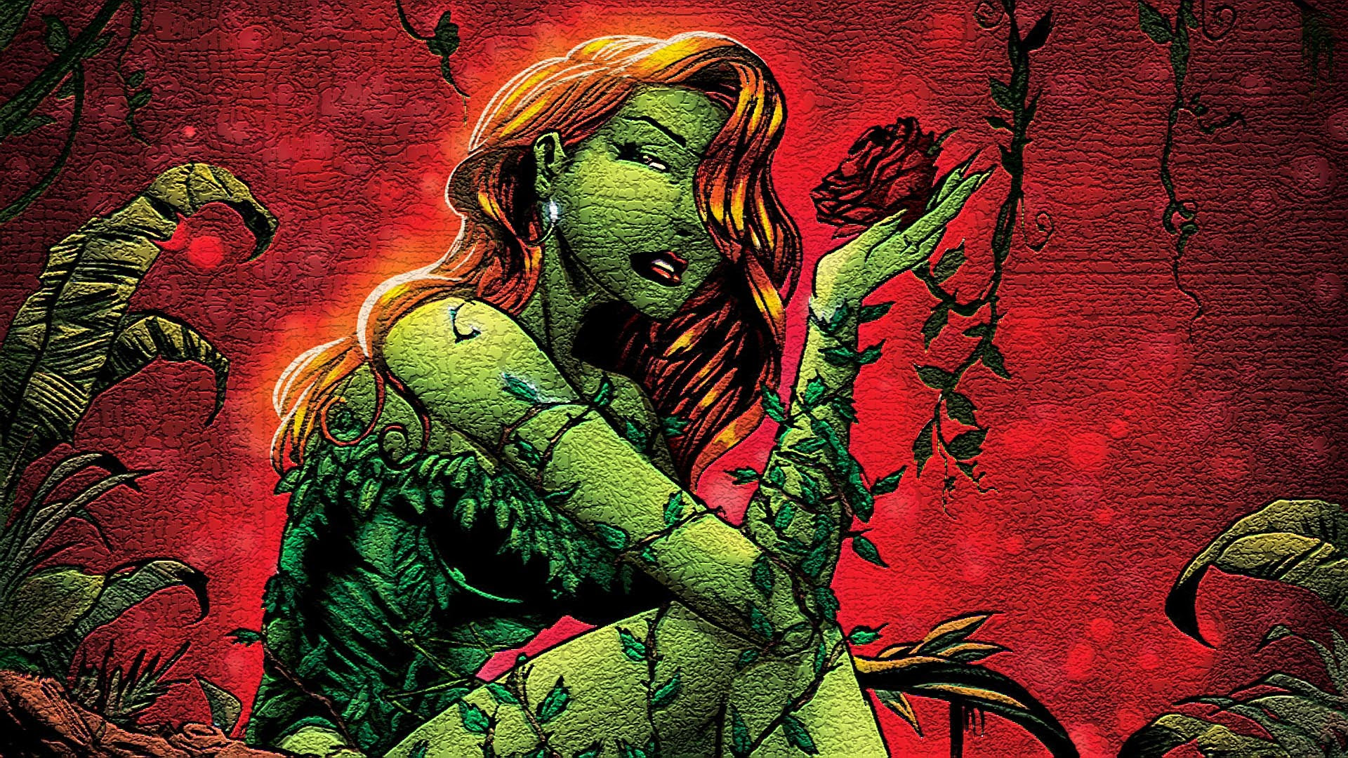 Poison Ivy Wallpaper Hd 74 Images