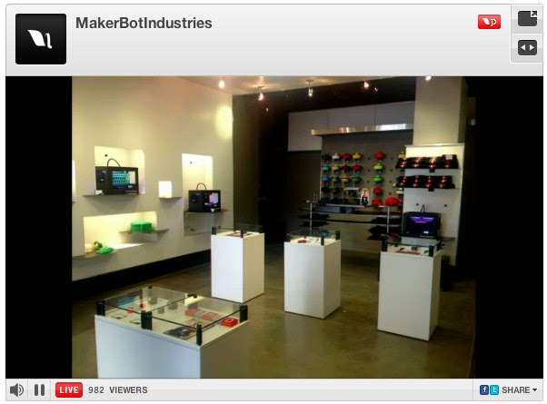 MakerBotIndustries - Makerbot Store 298 Mulberry Street NYC