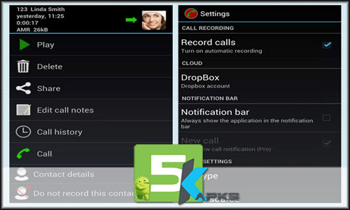 Automatic Call Recorder Pro free apk full download 5kapks