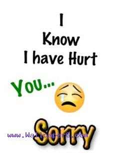 Download I Hurt You Sorry Hurt Wallpapers Mobile Version
