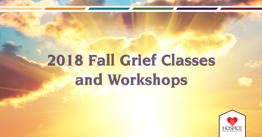 2018 Fall Grief Class Schedule