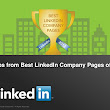 Top 10 Tips from Best LinkedIn Company Pages of 2012