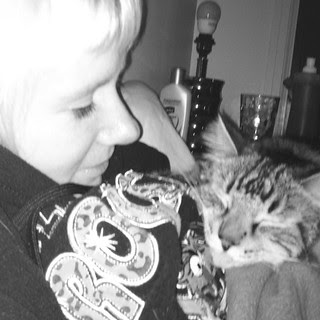 Simon & Me Cuddling