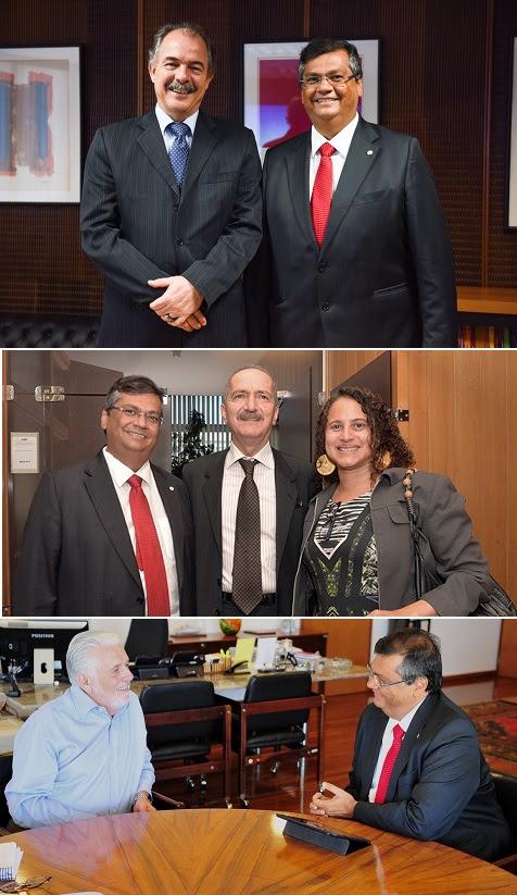 Foto 5_Divulgalção - Governador Flávio Dino agenda Brasília