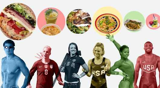How do Olympians eat? Clean and, often, very little.