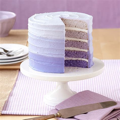 Purple Ombre Cake   Wilton