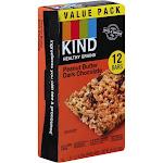 Kind Healthy Grains Granola Bars, Peanut Butter Dark Chocolate, Value Pack - 12 pack, 1.2 oz bars