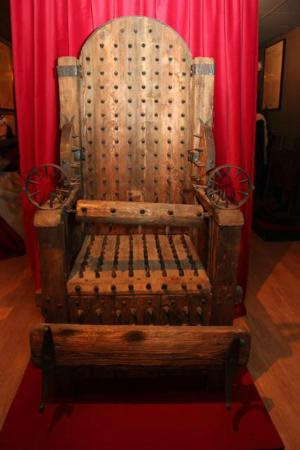 Museum of Medieval Torture Instruments: Interrogation Chair