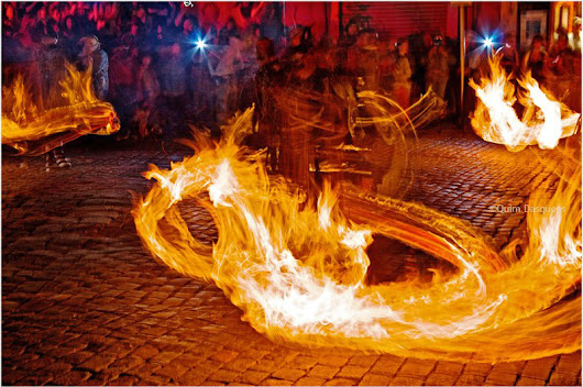 Caldes de Montbui - the Spanish spa town with one seriously fiery festival - Guiri Girl in Barca