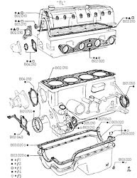 Pinto OHC engines parts list - fordopedia.org