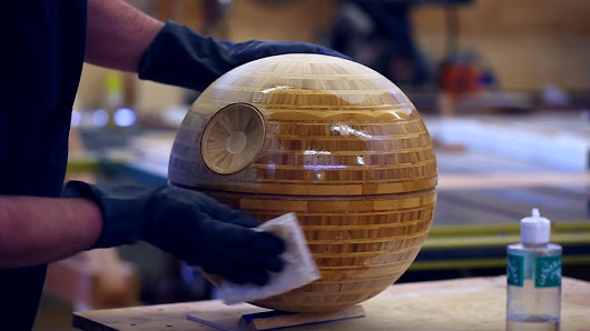 Behold the Death Star Turned on a Lathe! | Make: DIY Projects and Ideas for Makers