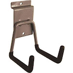 Crawford ST2H General Purpose Short Arm Tool Hanger Hook, 5.69 in W x 3-5/8 in D x 4-1/4 in H, Vinyl/Powder Coated
