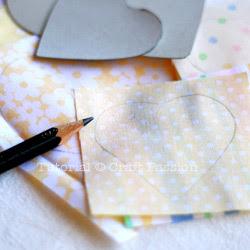 Sew a heart