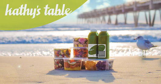 Kathy's Table | Healthy Meals & Jacksonville Beach Juice Bar