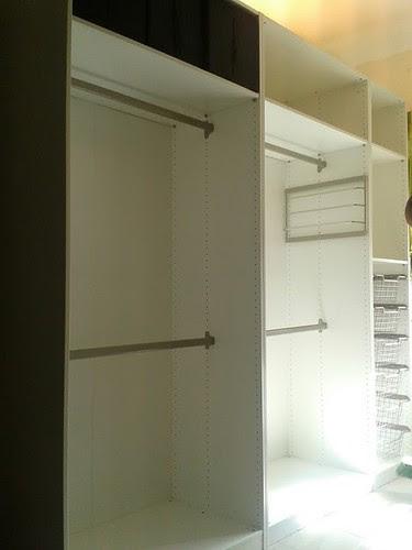 Pax wardrobe installed