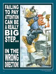 Poster - Failing to Pay Attention - ABC Safety Training