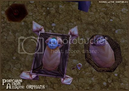 Postcards of Azeroth: Orphans, by Rioriel Ail'thera of theshatar.eu