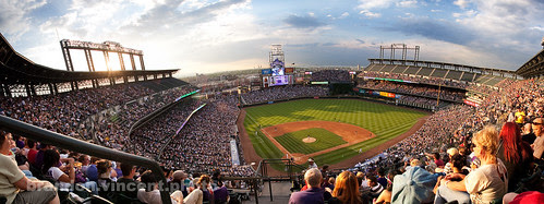 Coors Field, Colorado Rockies by brandon.vincent