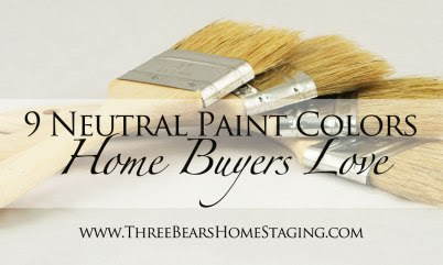9 Neutral Paint Colors Home Buyers Love
