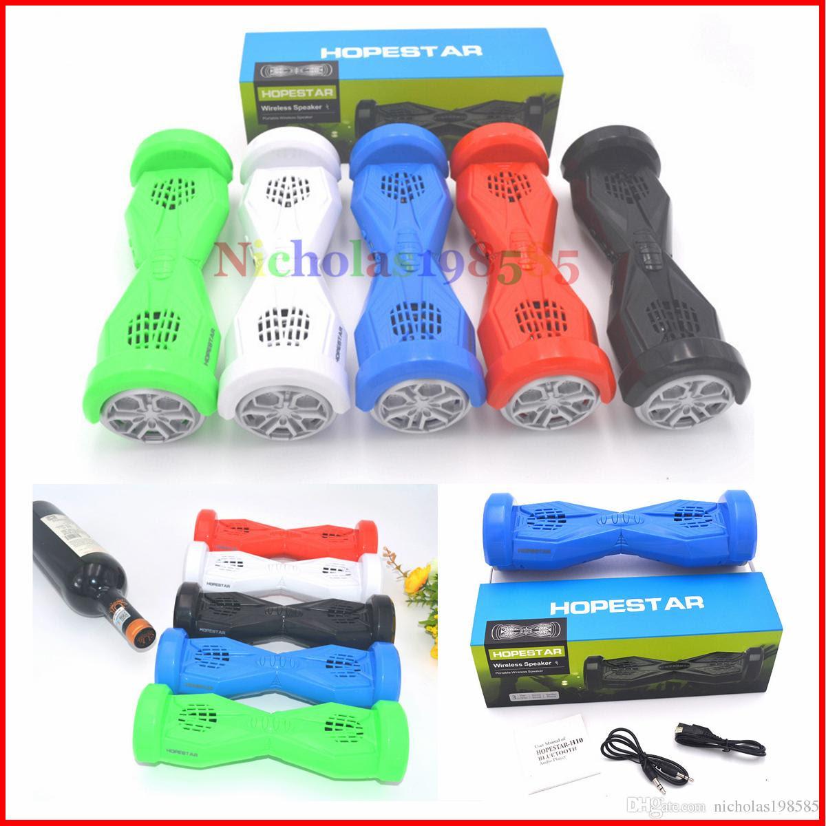 Best H10 Balance Car Skateboard Scooter Mini Portable Wireless Bluetooth Speaker Hoverboard