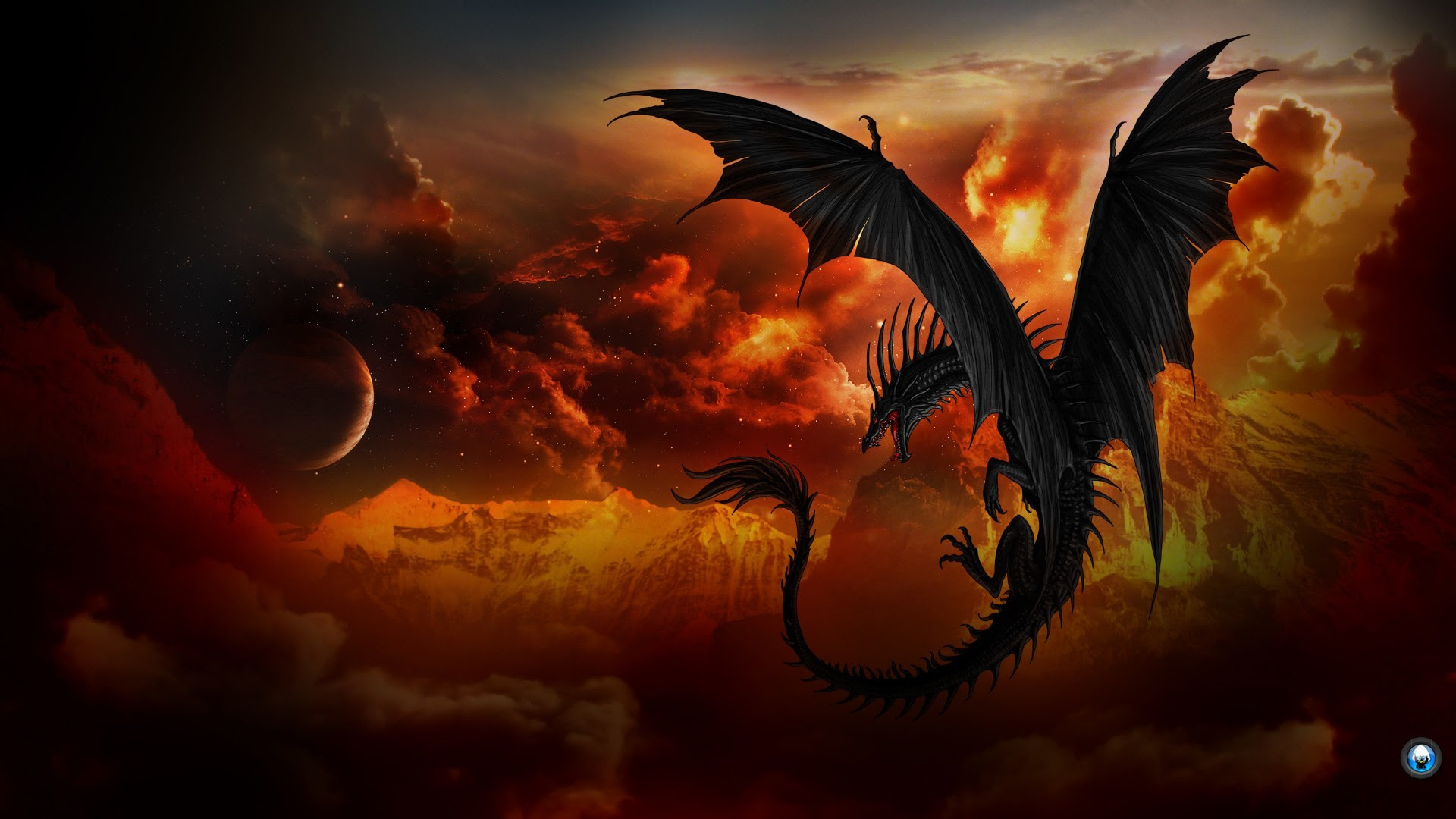 Black Dragon Wallpaper Hd 69 Images