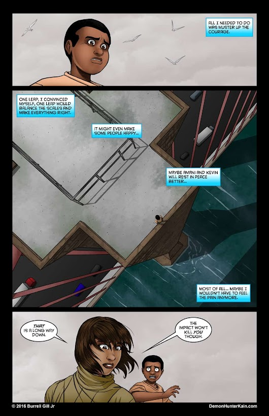 Demon Hunter Kain Chapter 6: The Boy Called Kain, Page 84