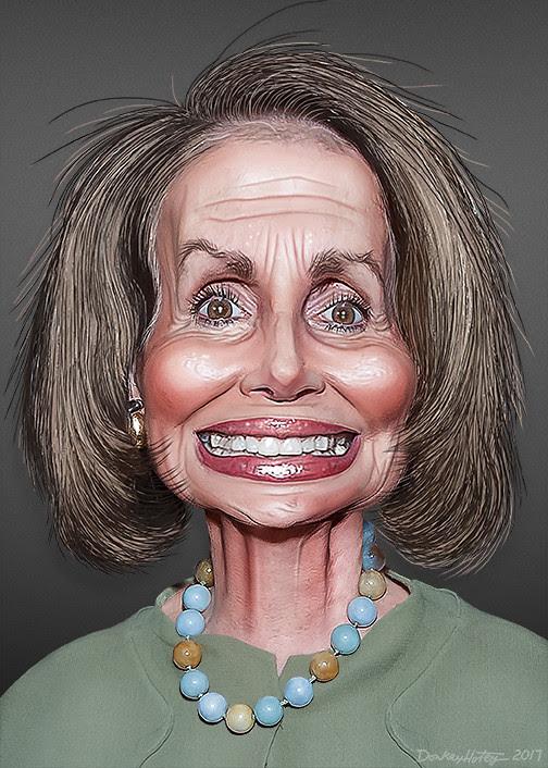 Nancy Pelosi Caricature Nancy Patricia Dalesandro