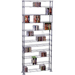 Atlantic Maxx - 12 Shelving Multimedia - Media storage - CD x 854 DVD x 450