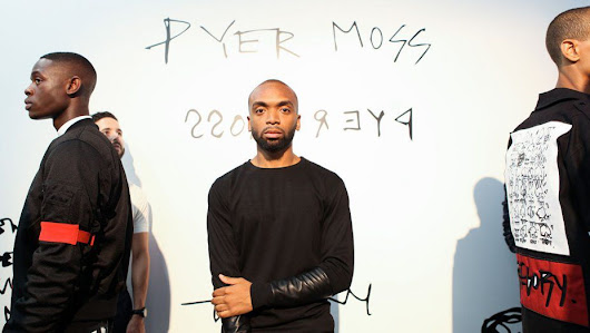 DESIGNER KERBY JEAN RAYMOND OF PYER MOSS WINS THE CFDA VOGUE FASHION FUND 2018 - Arc Street Journal / inteligent & elegant culture from everywhere and for everybody.