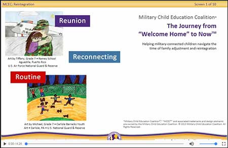 Blended Learning (Project Spotlight): Military Child Education Coalition