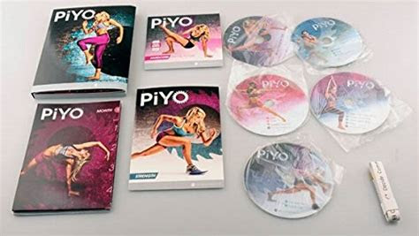 piyo workout  dvd deluxe program full set buy
