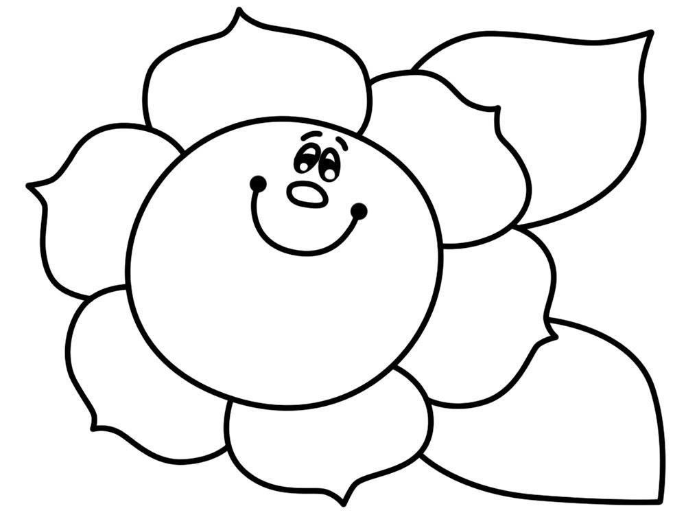Imprimir Imagenes Dibujos Para Colorear Flores Para Ninos Y Ninas