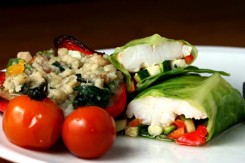 Hake wrapped in cabbage 2