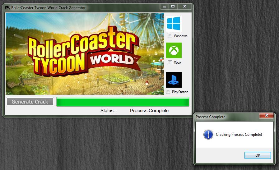 Roller coaster tycoon world cheat codes