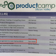 Product Camp Silicon Valley - Product Management in a Lean Startup World