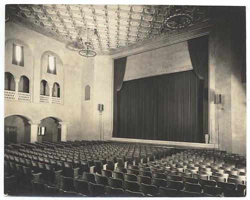 Figueroa Playhouse Auditorium, c. 1925