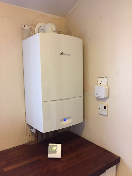 Worcester 25i fitted in forest gate - RJ Gas Heating Services