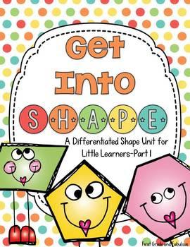 http://www.teacherspayteachers.com/Product/Get-Into-Shape-A-Differentiated-Shape-Unit-for-Little-Learners-Part-1-1043294